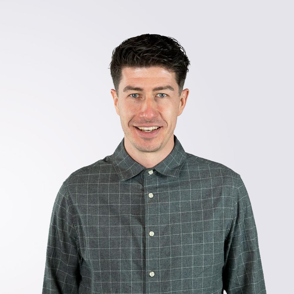 George smiling