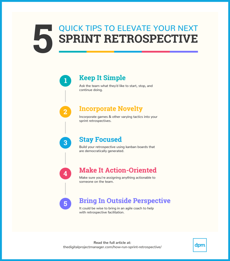 5 tips to elevate your sprint retrospective