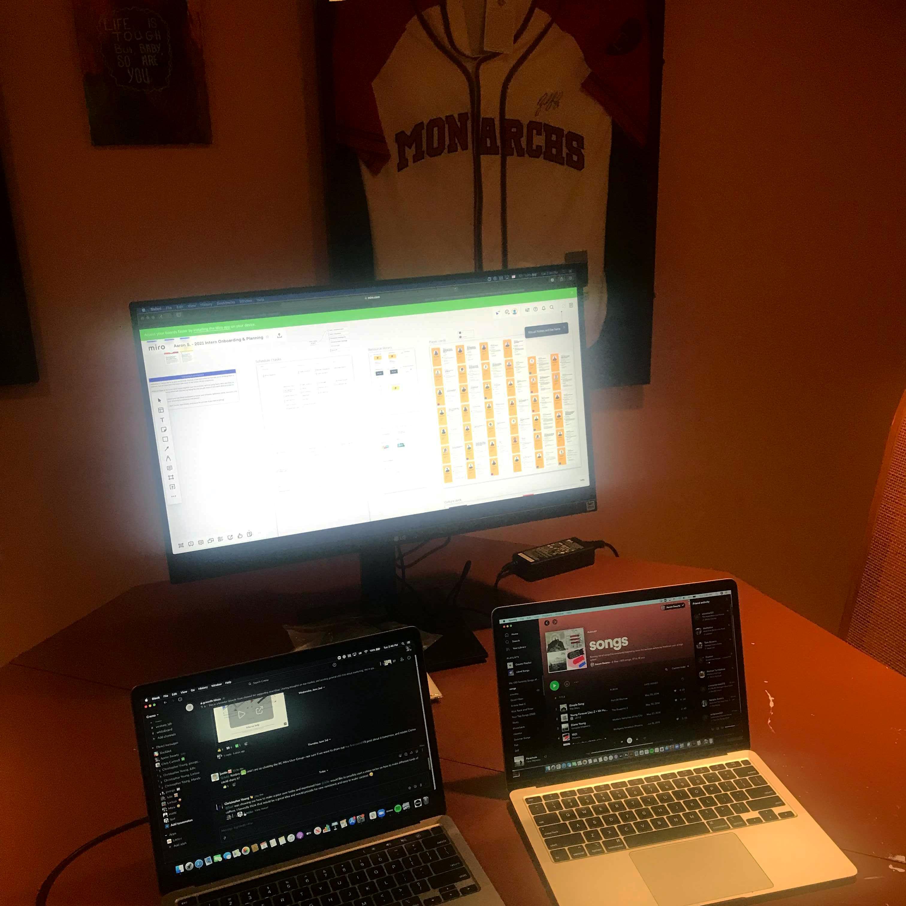 Aaron's Desk