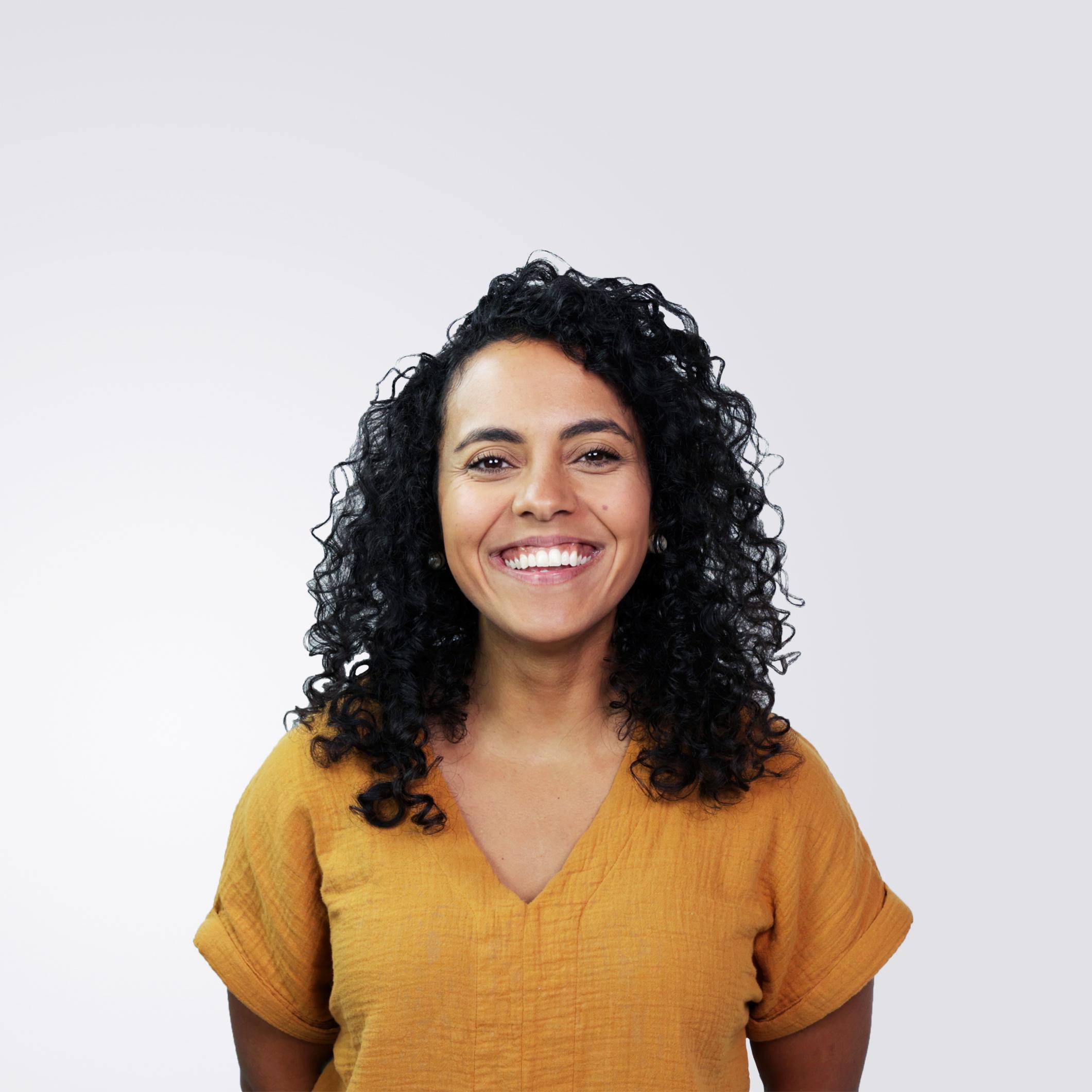 Mandy smiling