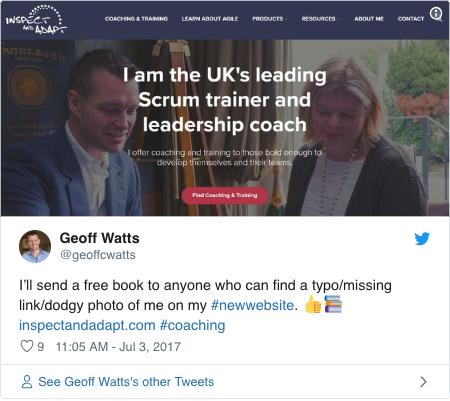 Geoff Watt's Social Media