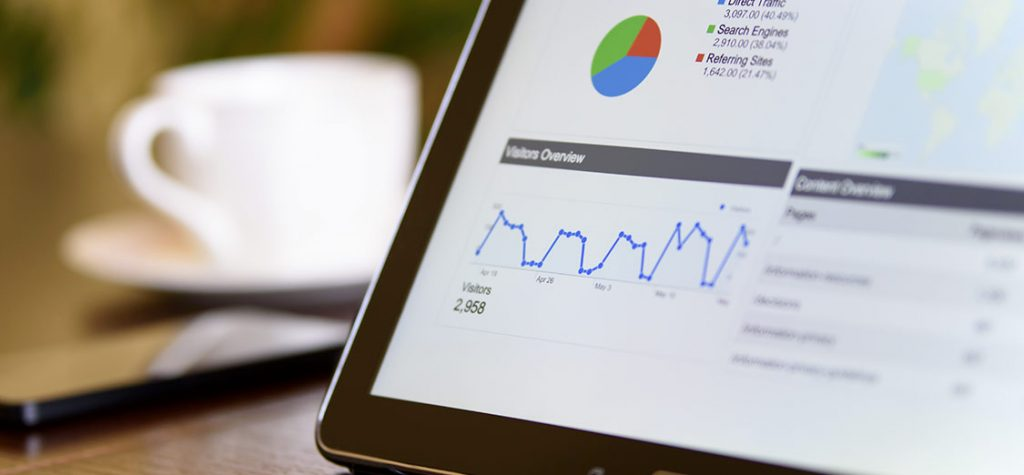 Tracking Sales Progress on a tablet