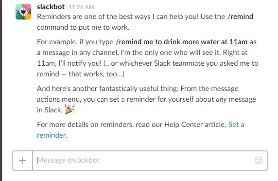 Slackbot AI chat