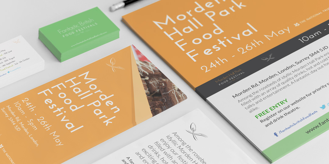 A selection of Fantastic Food Festivals Stationary
