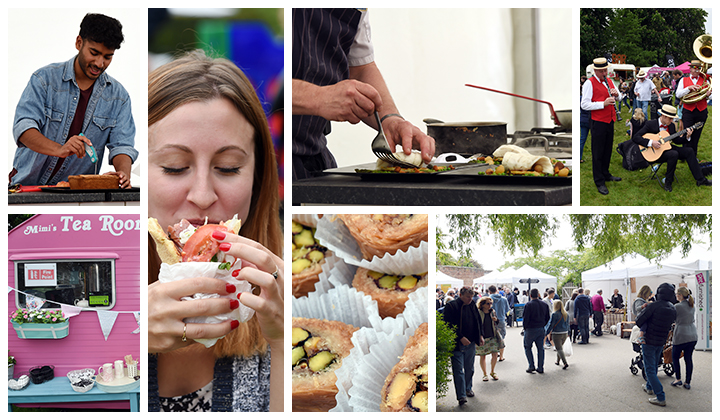 A selection of photos from FFF at Bleinheim Palace