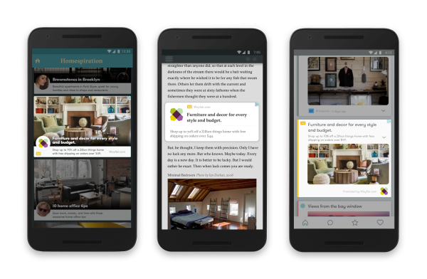 Google Mobile Responsive Ads on Mobile devices