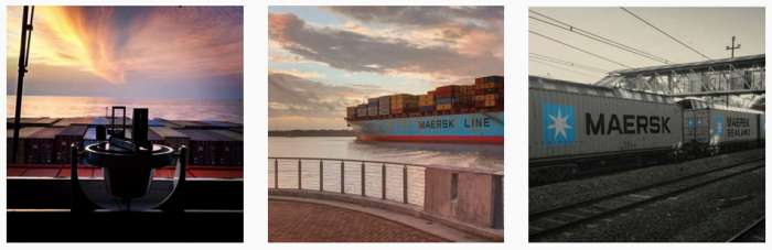 Instagram images for Maersk shipping