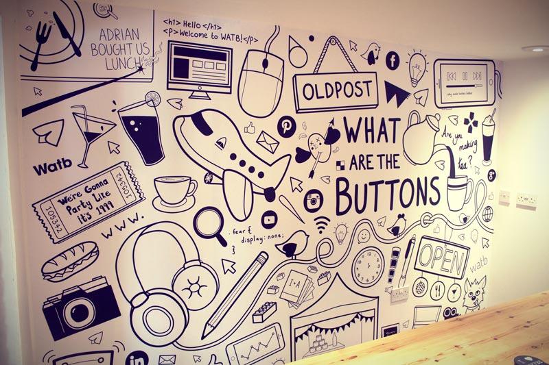Watb Office Mural