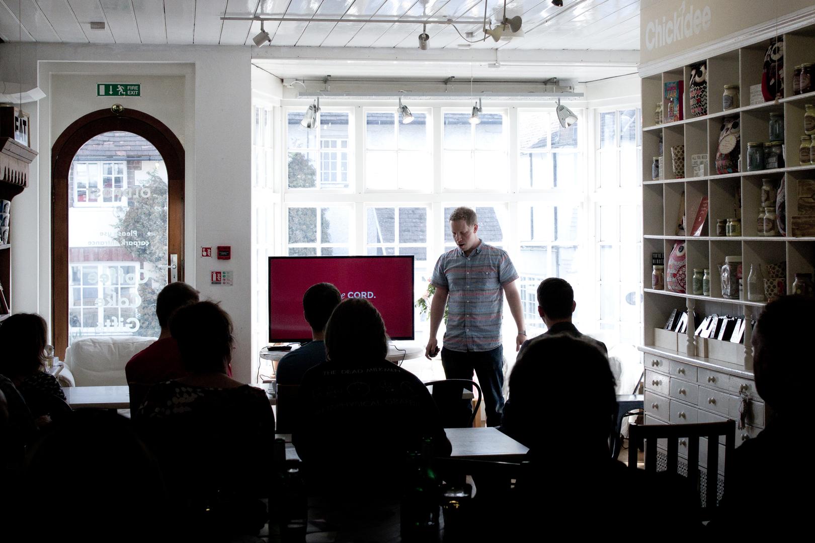 418:Conf Meet Up Developer demonstration