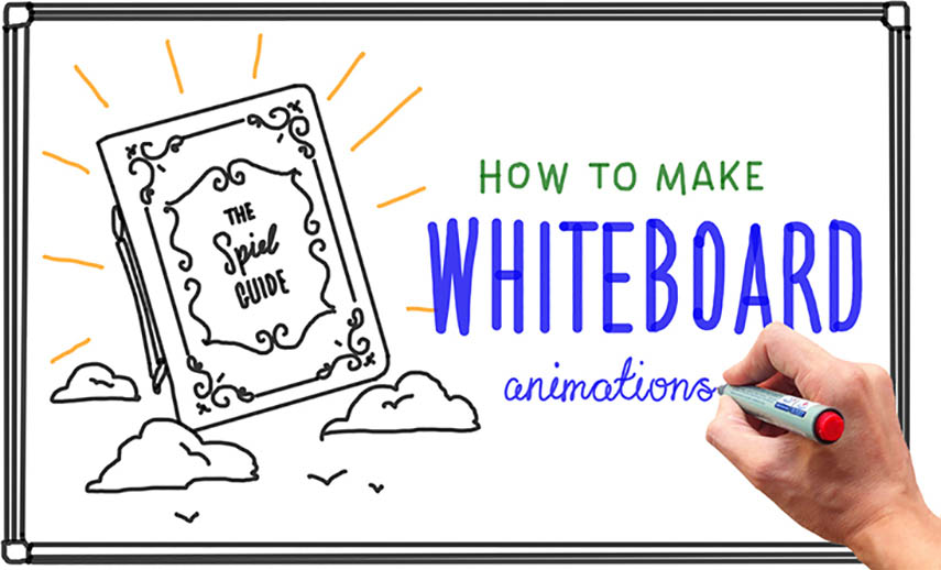 Example of a whiteboard animation video