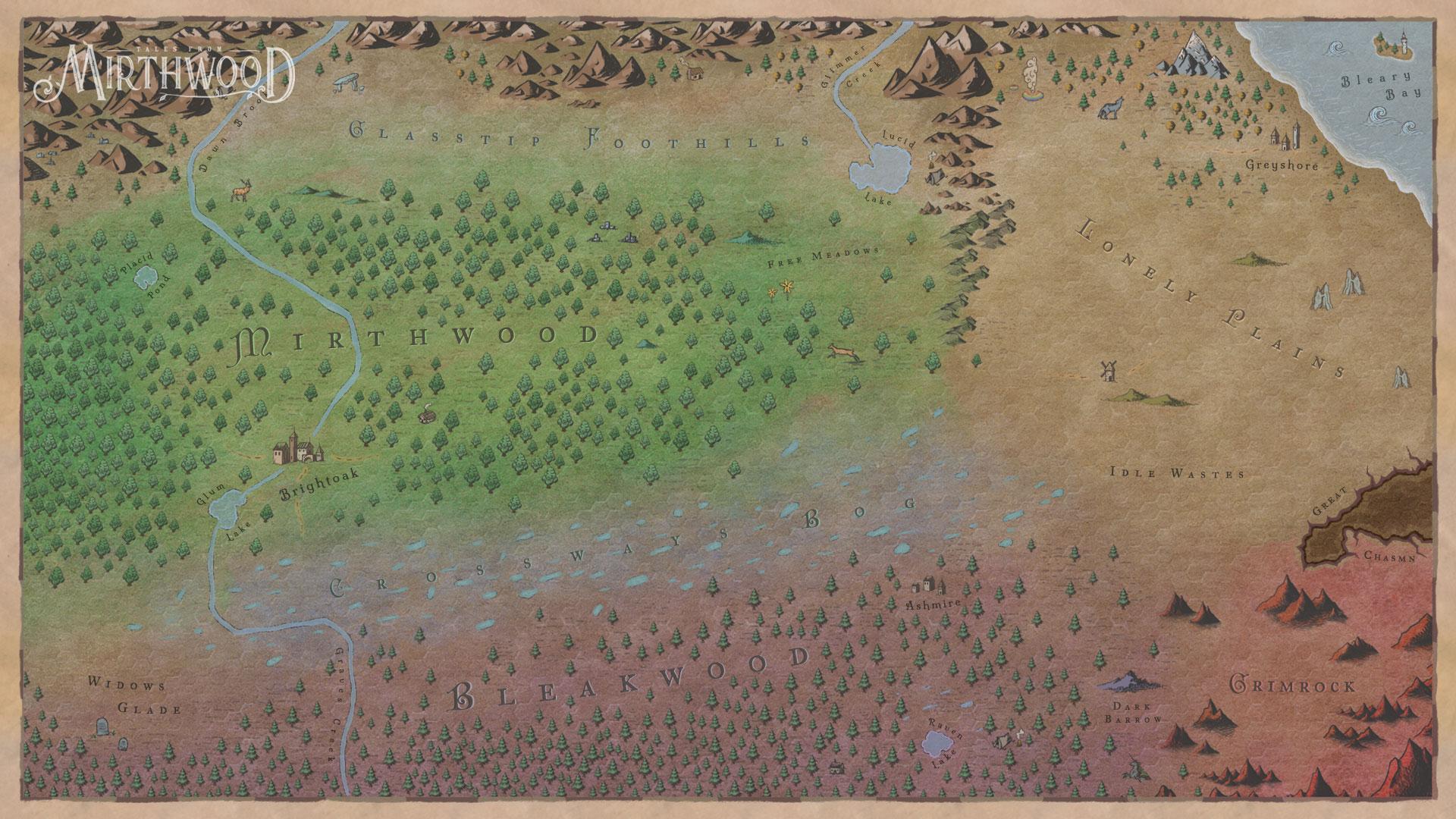 Mirthwood Map Screenshot