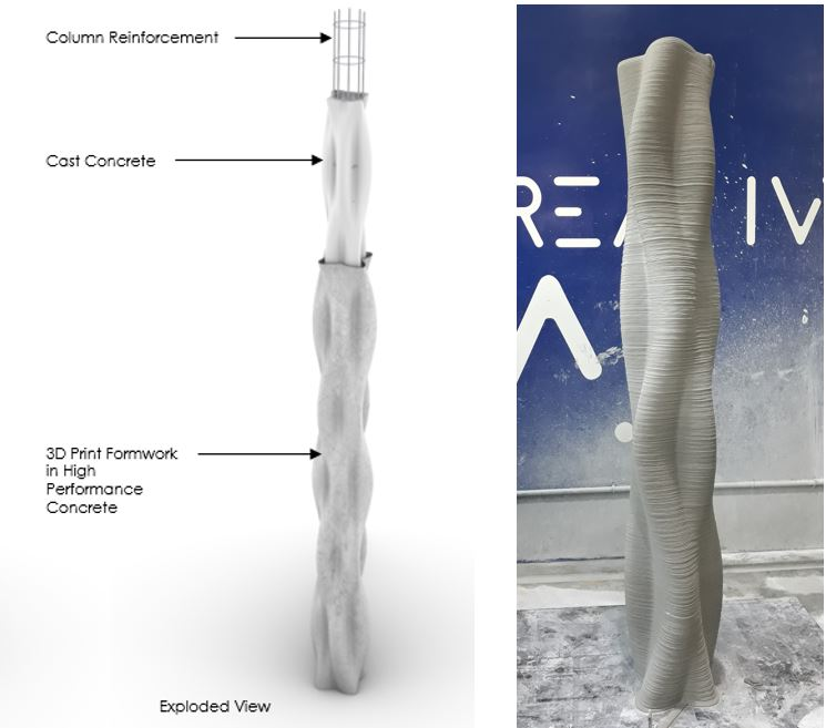 3DPrint Structural Column