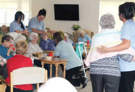 Peacehaven Care Home Activities