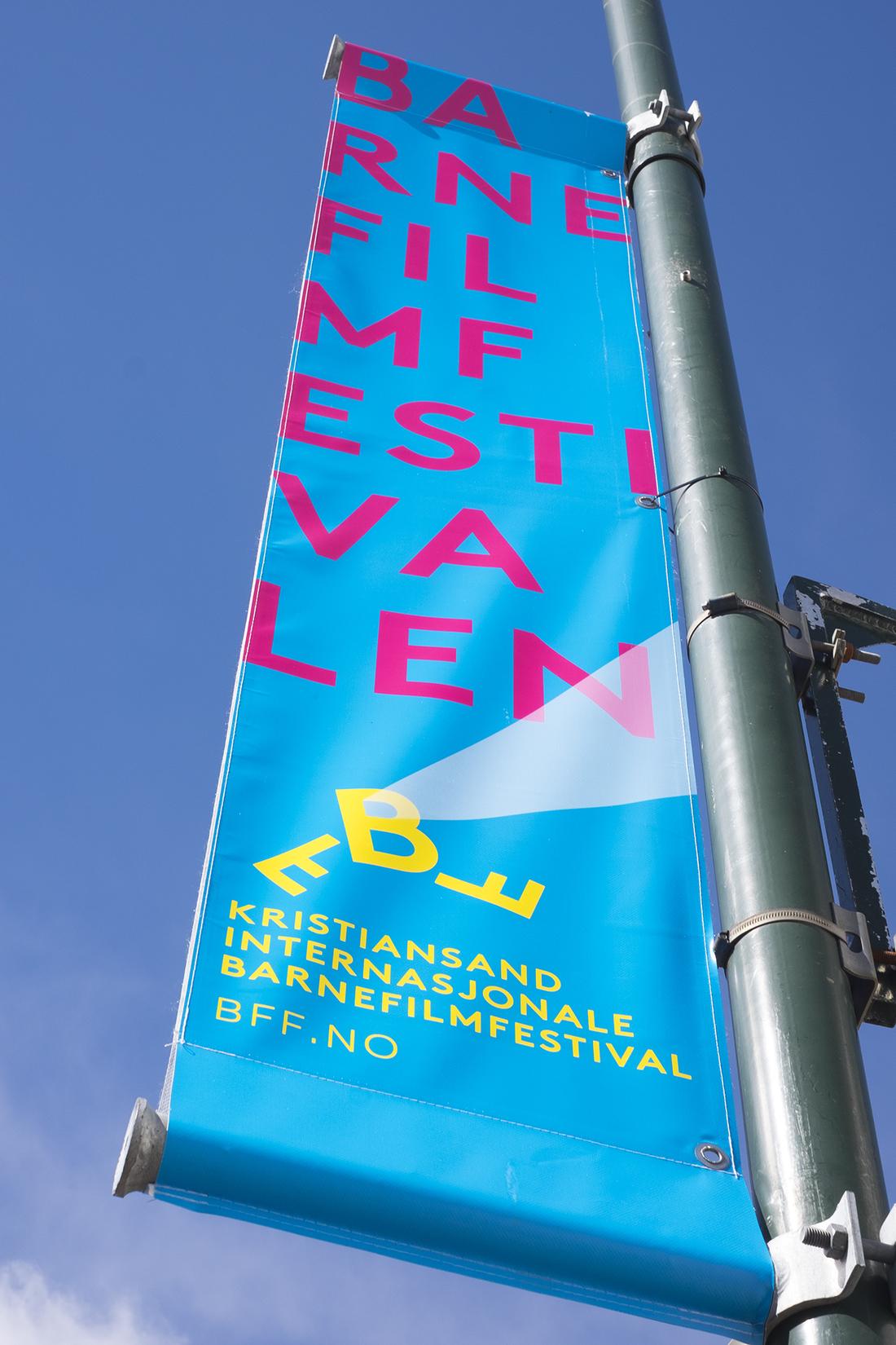 Identitetsdesign Barnefilmfestival