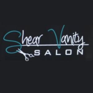 Shear Vanity Salon Logo