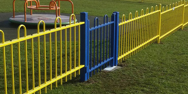 Gates Fencing for Parks. Play Areas and Playgrounds