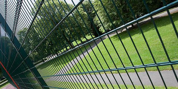 Steel Fencing for Parks. Play Areas and Playgrounds