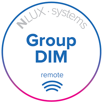 NLUX Systems, Group Dim, remote option