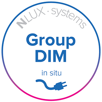 NLUX Systems, Group Dim, in situ option