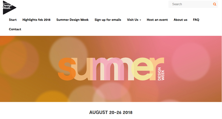 Summer Design Week
