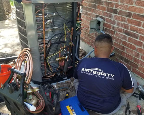 new ac system replacement