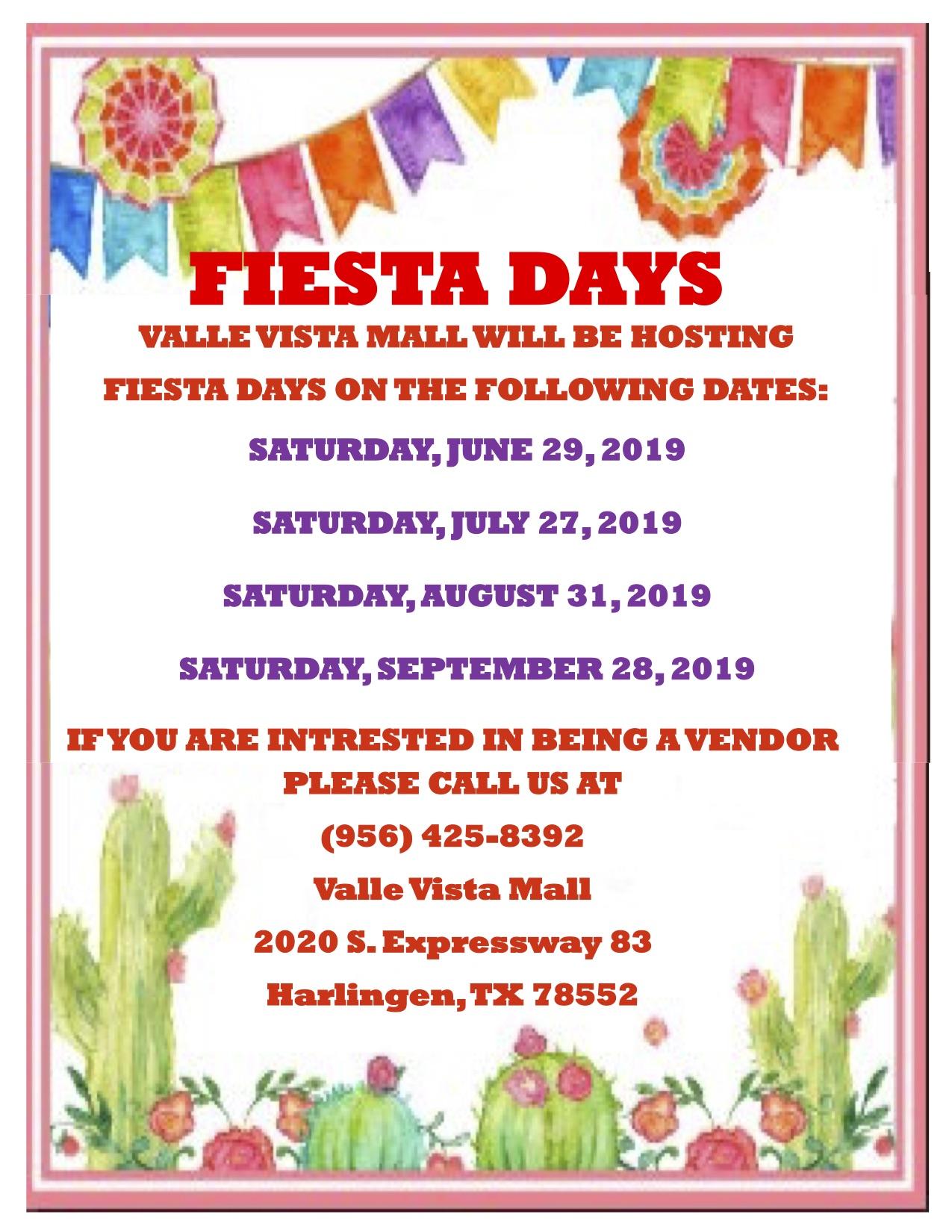 Fiesta Days event information