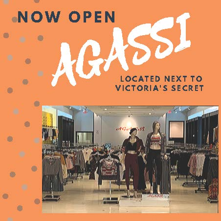 Agassi Now Open