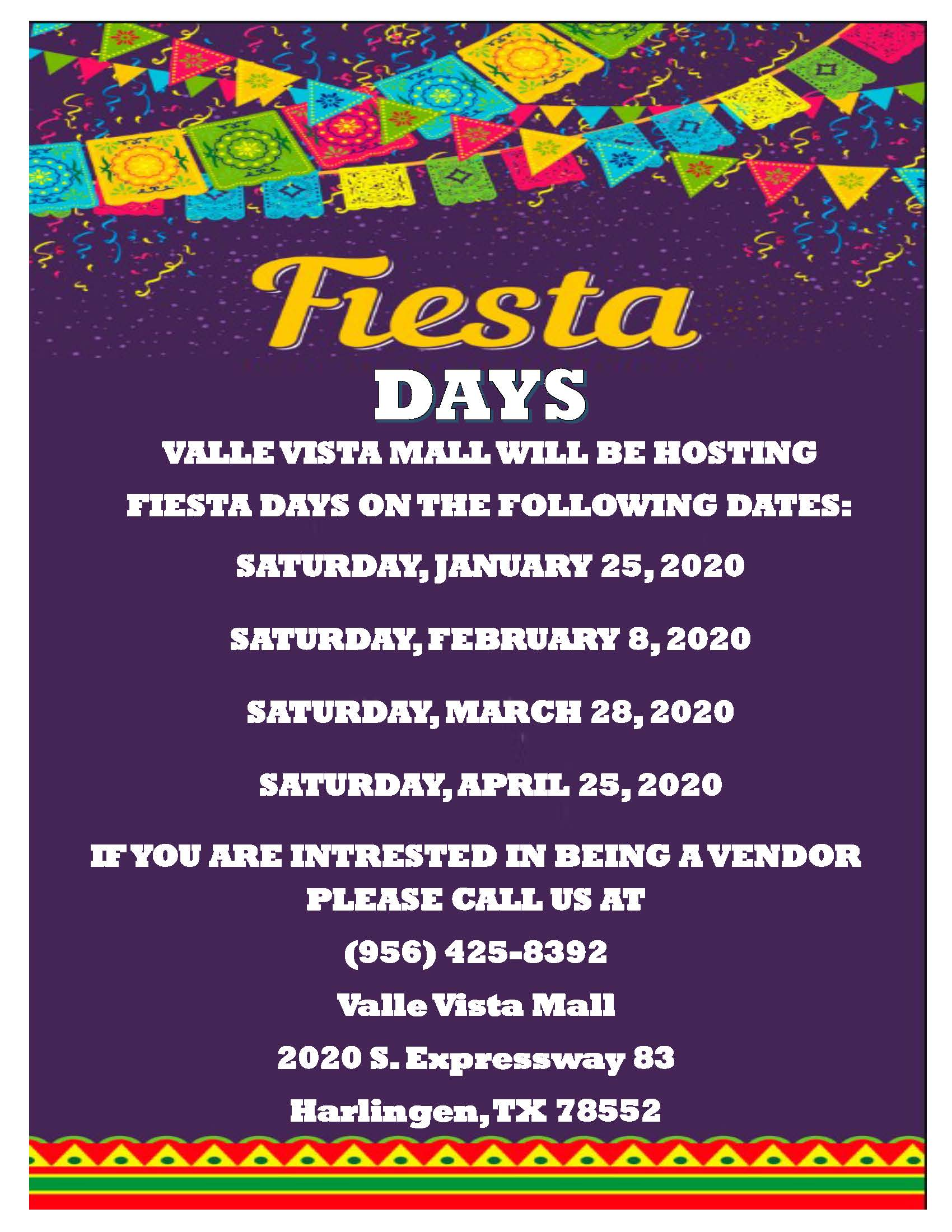 2020 Fiesta Days