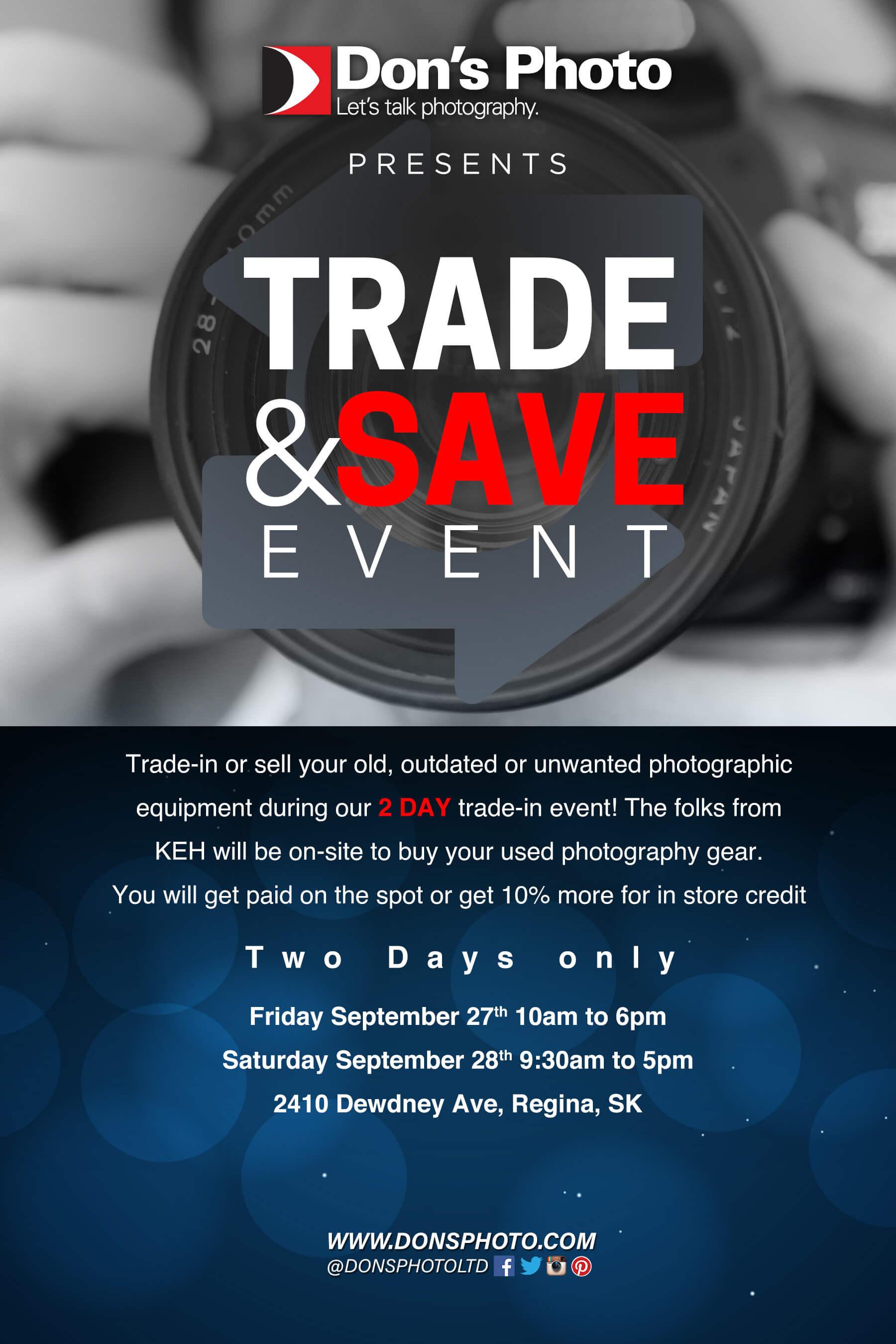 Trade & Save Event