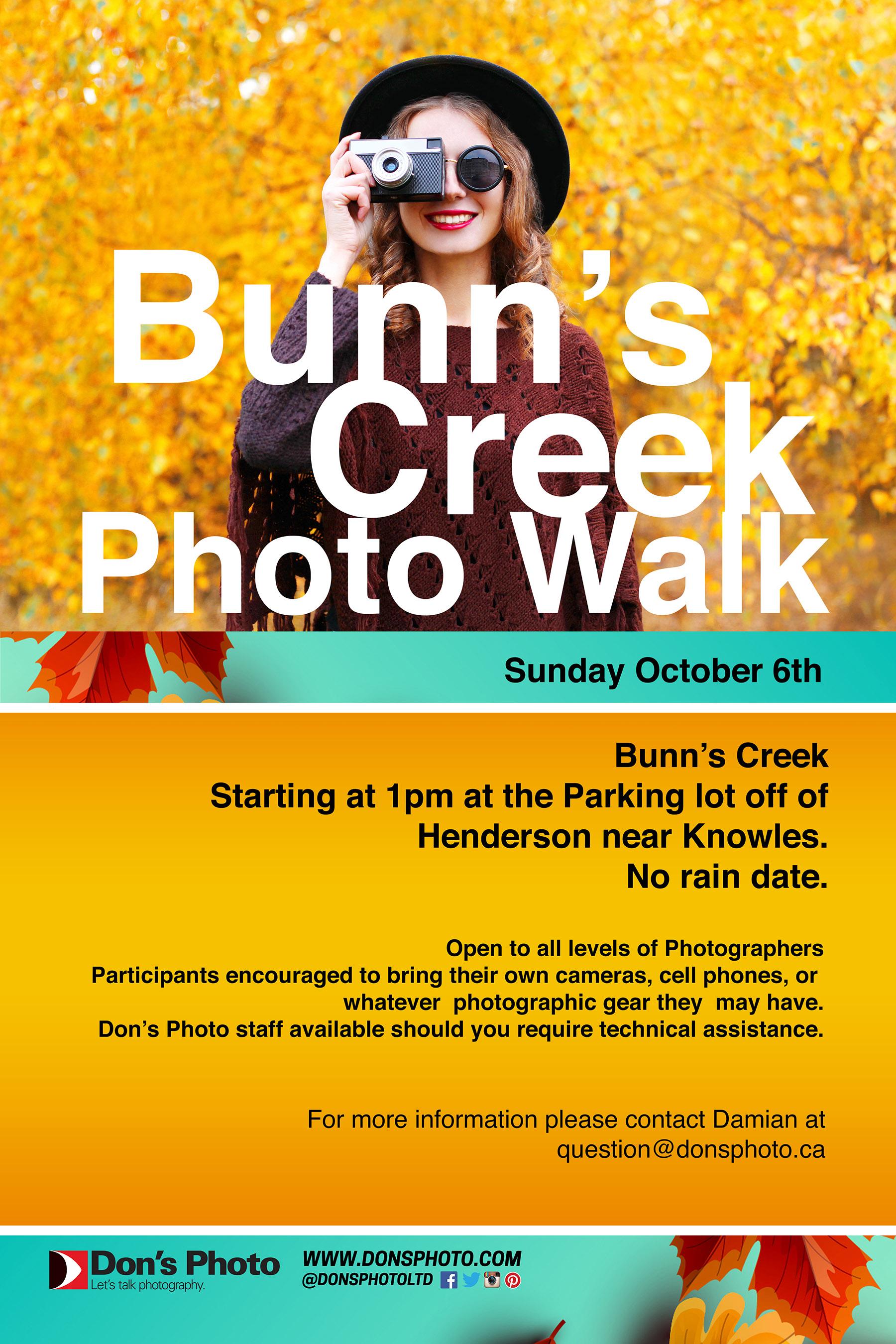 Bunn's Creek Photo Walk