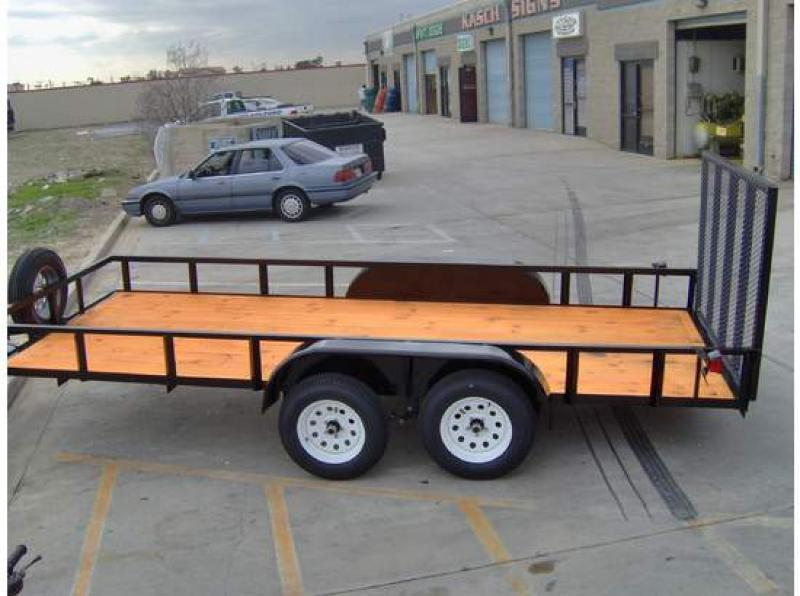 6.5' X 16' Utility Trailer | Trailers | West Coast RV