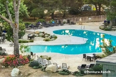 Ventura Ranch KOA Pool area
