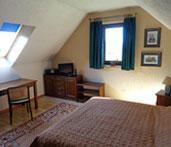 Sypialnia w pokoju hotelowym