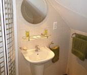 Łazienka pokoju hotelowego
