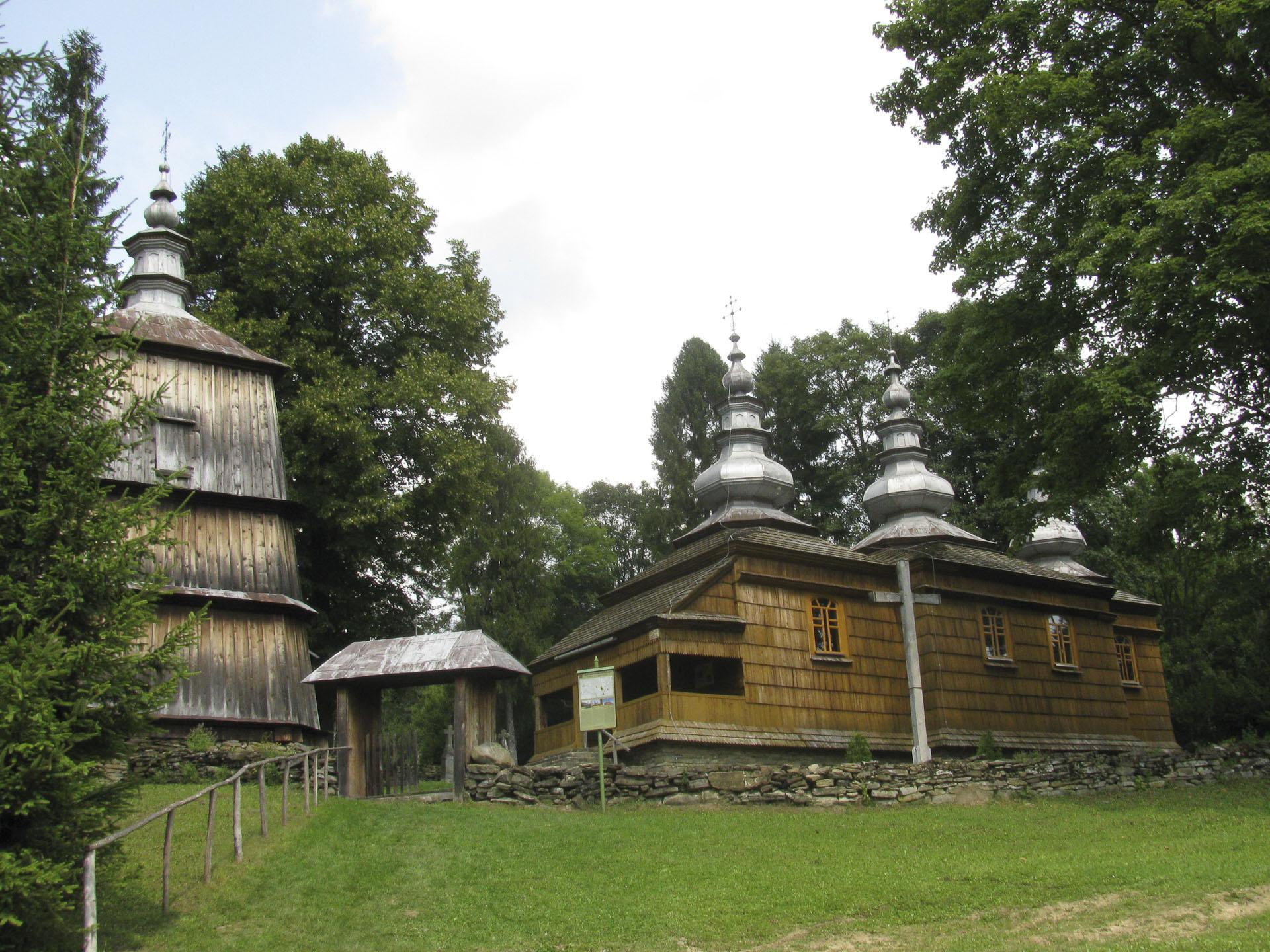stara cerkiew w okolicy