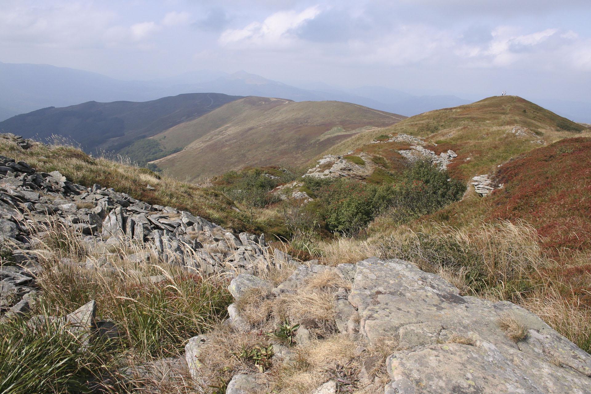 jeden ze szlaków w górach