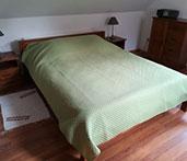 standardowe łózko w pokojach