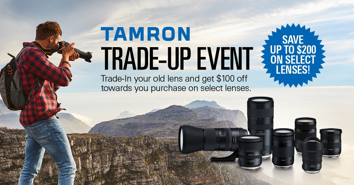 Tamron Trade-Up Event