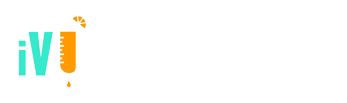 Main iV Bars Frisco Texas Logo white