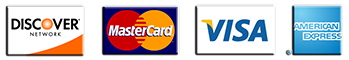 Photo of credit cards and accepted payment methods for iv bars