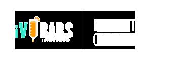 white logo of iV bars Durant Oklahoma