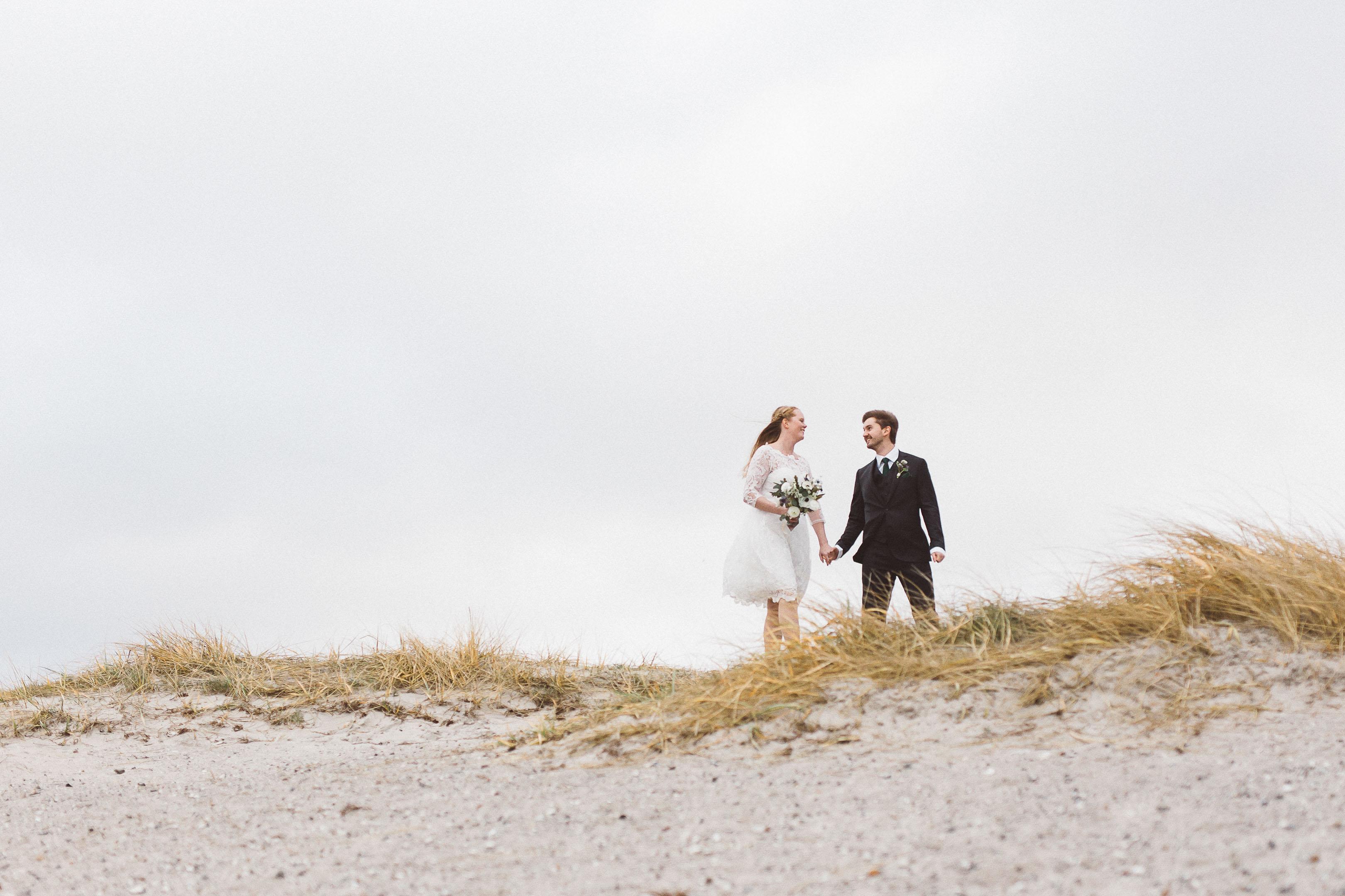 bröllopsfoto på ribban