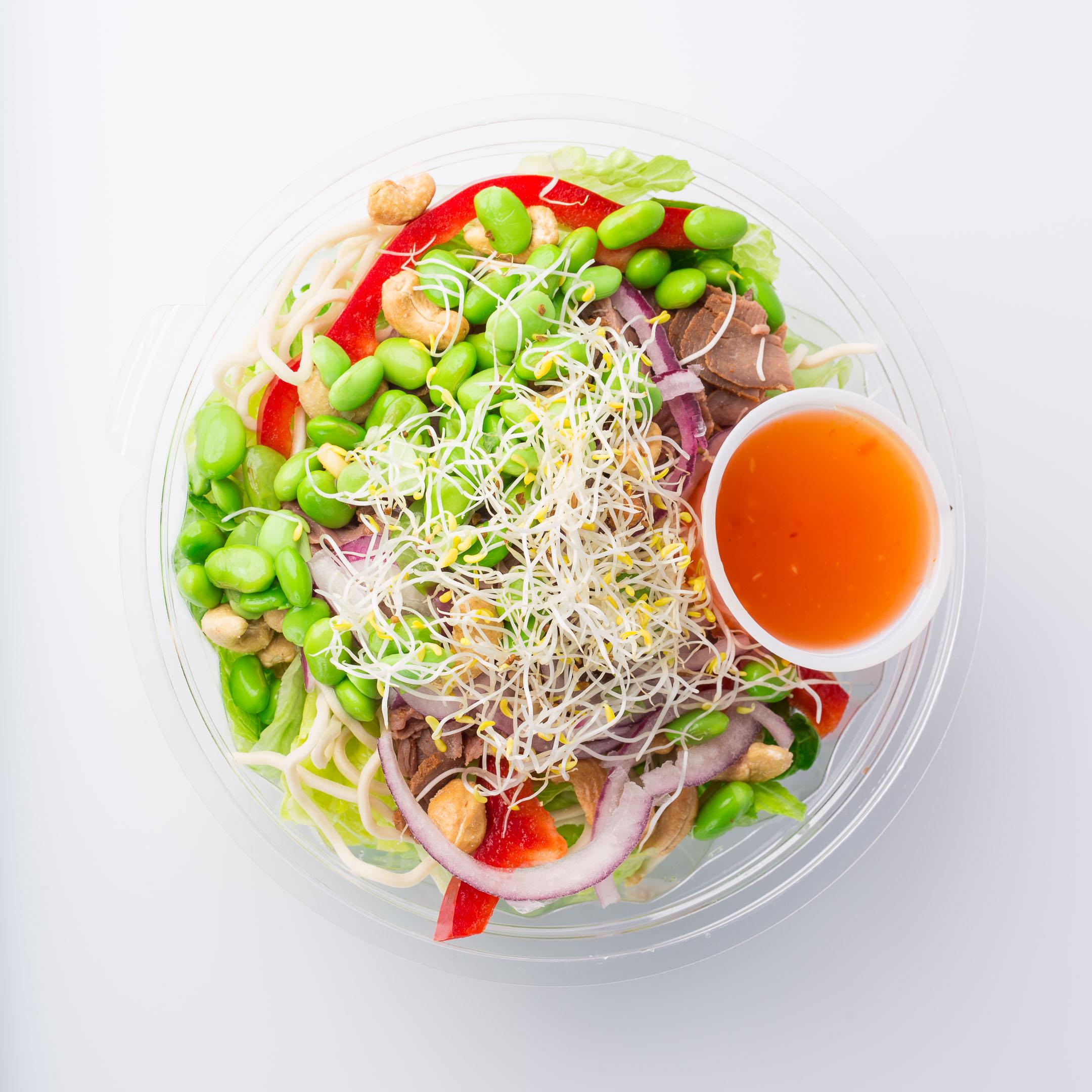 Gröntogott sallad produktfoto