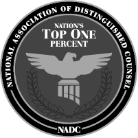 National Association of Distinguished Counsel Badge