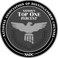 National Association of Distinguished Counsel Badge