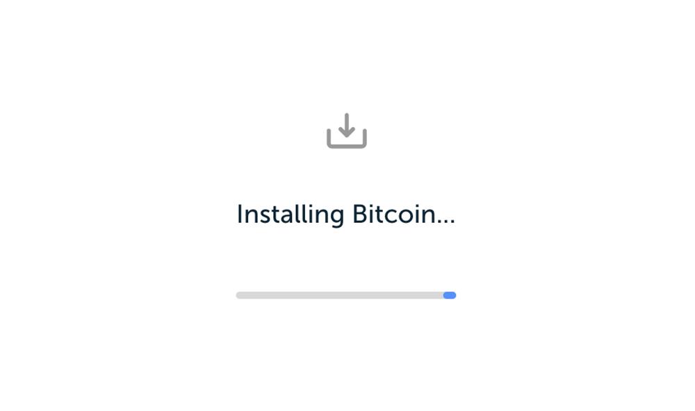 Bitcoin Wallet installieren