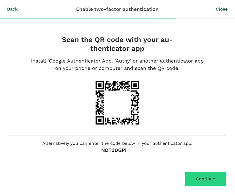 2-Factor Authentication