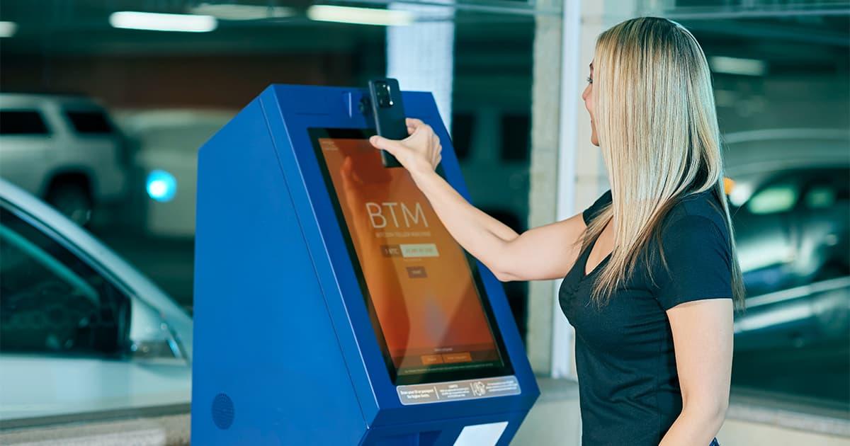 Bitcoin am Automaten kaufen