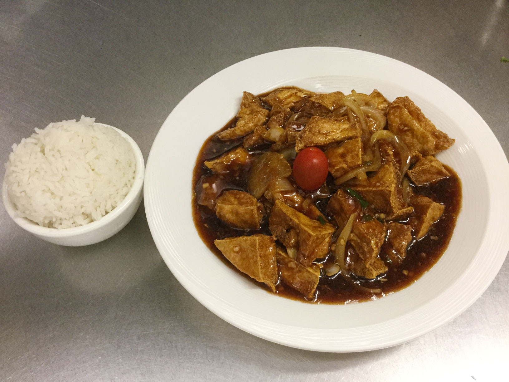 tofu chili style