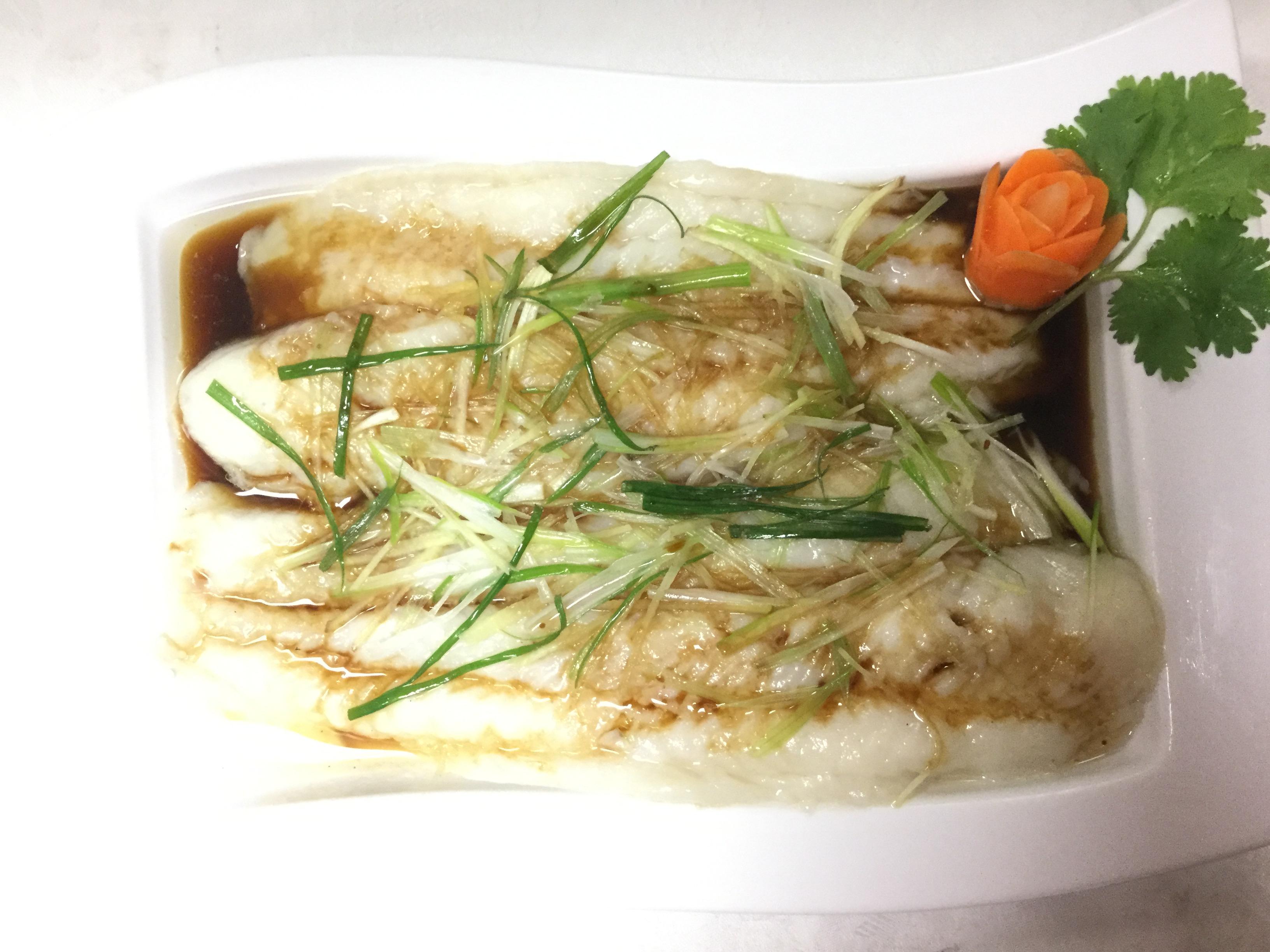 steamed fish fillet
